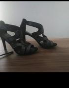 Szpilki sandały na obcasie 41...