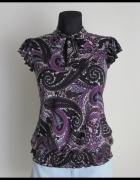 Elastyczna bluzka z dekoracyjnym wiązaniem Orsay L 40...