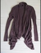 VERO MODA narzutka sweter rozmiar S kolor śliwkowy...