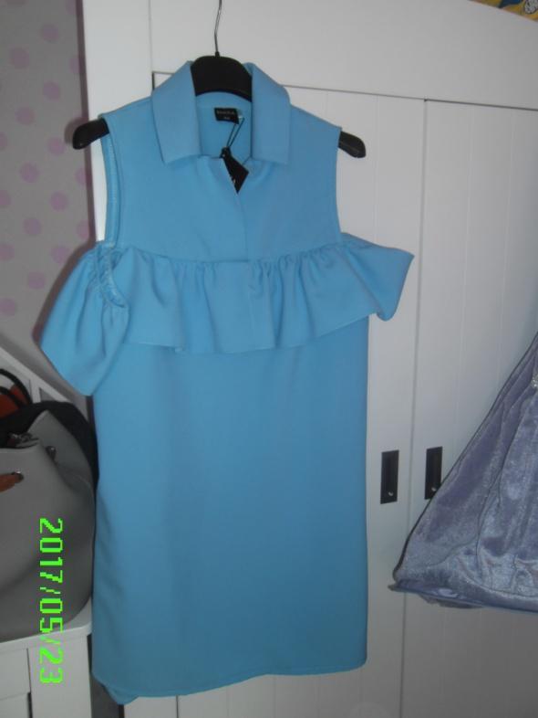 Sheila sukienka błękit xs Hiszpanka