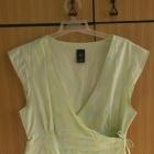 Jasnozielona kopertowa bluzka GAP XS