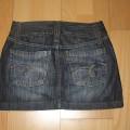 Spódnica jeansowa mini Vertus