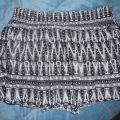 H&M AZTEC PRINT spódniczka mini L