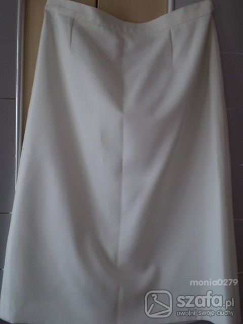 Spódnice Biała spódnica na lato