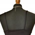 Nowa romantyczna sexy bluzeczka na ramiączkach z brokatem S