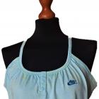 OKAZJA Nike Gym nowa z metką Top Fitness L XL baby blue tank dance