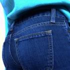 TANIO jeansy rurki skinny klasyczne granatowe