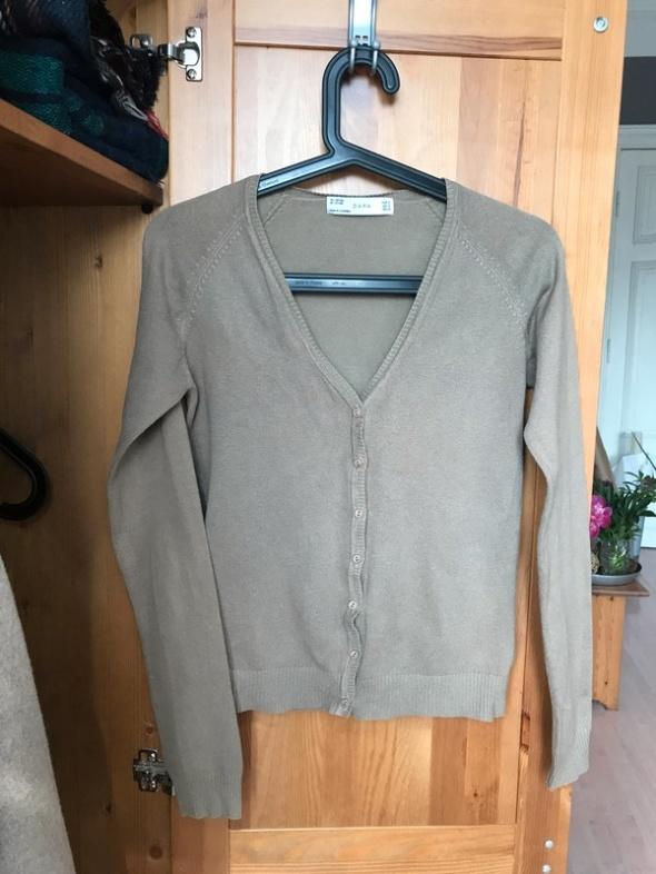 Oliwkowy sweter Zara 36 S