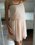 ASOS rozkloszowana sukienka S
