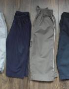 Spodnie dresowe cztery pary 86 92...