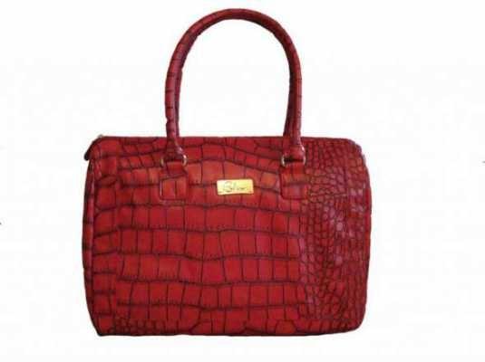 czerwona torba damska...