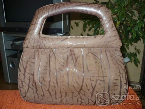 Skórzana torebka