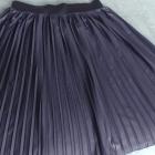 Plisowana granatowa spódnica