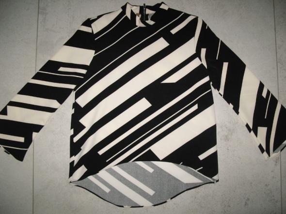 ZARA kremowa bluzka damska w paski roz 34