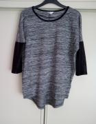 Szaro czarna bluzeczka M L...