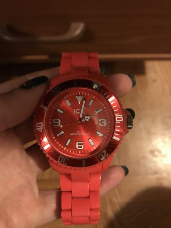 koralowy ice watch...