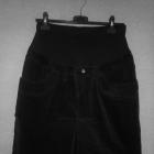 Ciążowa spódnica ołówkowa z bawełnianym panelem 40