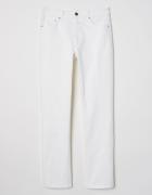 Nowe białe spodnie jeansy H&M dżinsy 48 4XL biel denim...