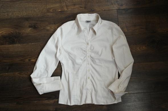 Koszule Bluzka koszulowa złota nitka 38