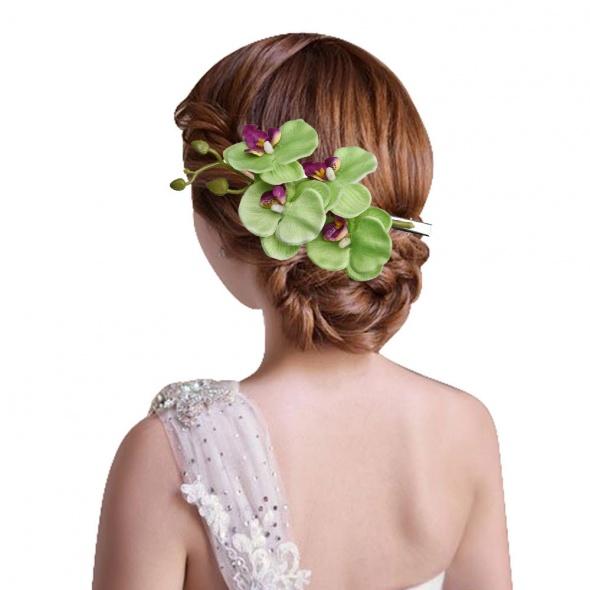 pinka do włosów kwiat Dostepne 3 kolory