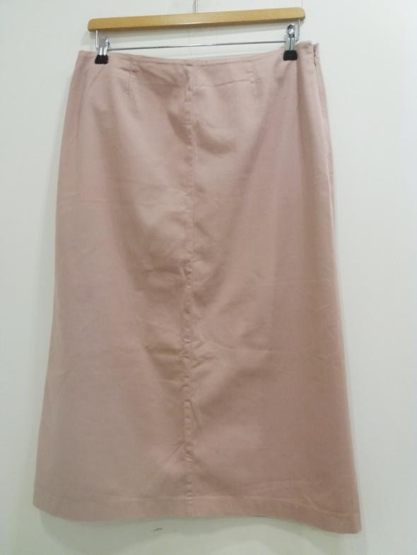 Spódnice spódnica ołówkowa pudrowy róż George 44