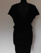 Gina Tricot czarna sexy sukienka 36 38...