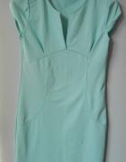 Błękitna sukienka letnia...