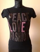 Bawełniana bluzka Peace Love Fashion...