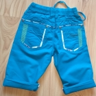 Nowy chłopięcy letni komplet bluzka i krótkie spodenki 122