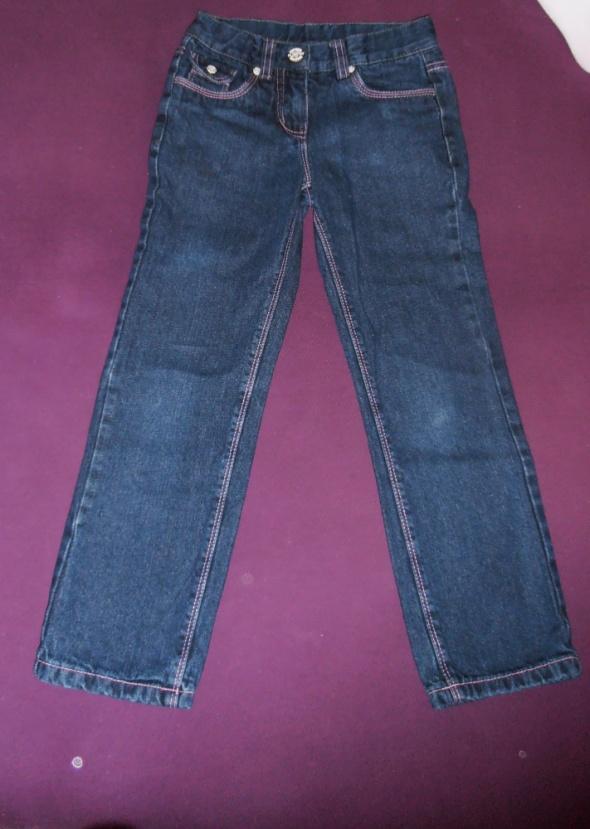 Pocopiano jeansy ocieplane dziewczęce rozm 128