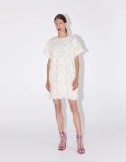 Zara tiulowa sukienka z cekinami biała cekiny S 36 nowa