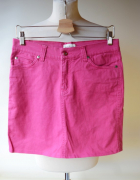 Spódniczka Jeans Różowa Park Lane M 38 Dżinsowa...