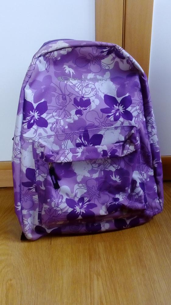 Plecak tornister duży fioletowy