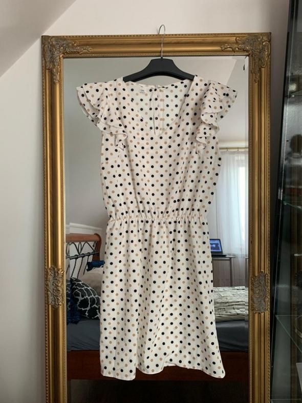 Suknie i sukienki Elegancka sukienka w groszki