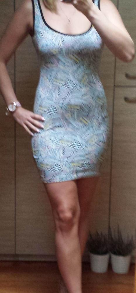 NOWA letnia sukienka mini obcisła bandage na lato
