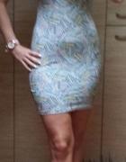 NOWA letnia sukienka mini obcisła bandage na lato...