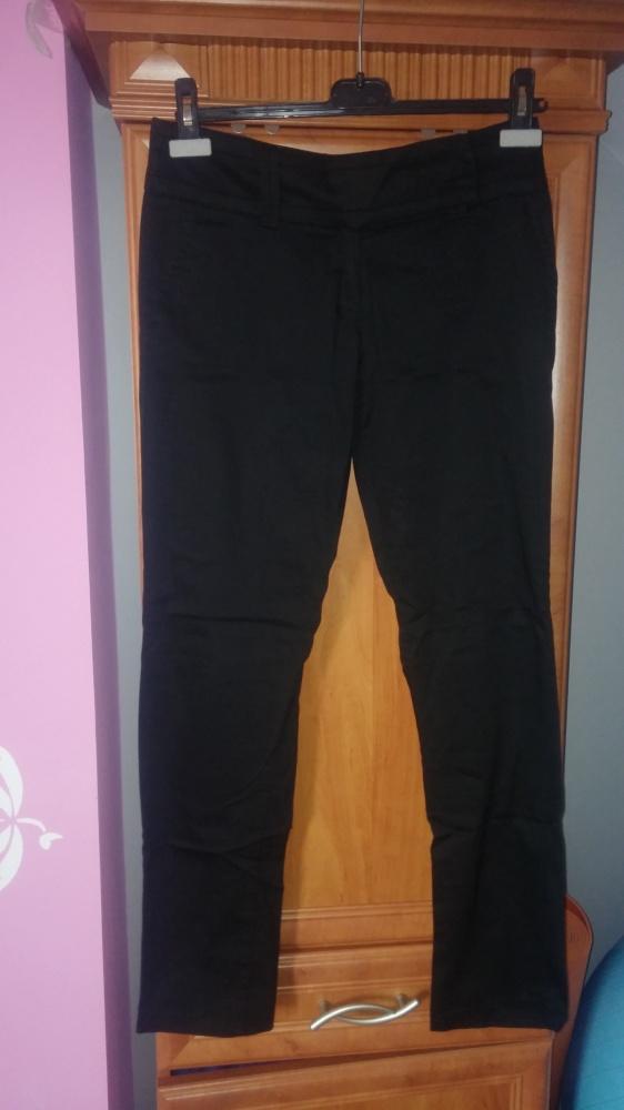 czarne spodnie eleganckie i na codzień