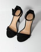 Piękne czarne szpilki Lauren Conrad paseczki New York...