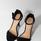 Piękne czarne szpilki Lauren Conrad paseczki New York