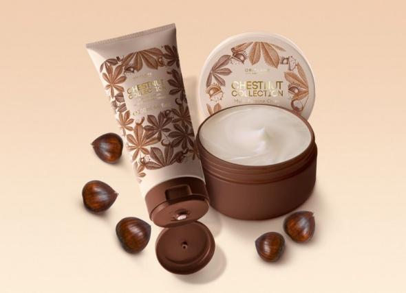 Chestnut Collection Oriflame zestaw do pielęgnacji kasztanowy