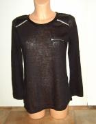 czarna bluzeczka mgiełka