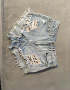 Spodenki jeansowe HM...