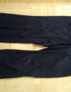 Spodnie z materiału czarne...