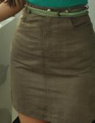 beżowa spódnica...