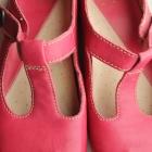 super skórzane wygodne buty fuksja