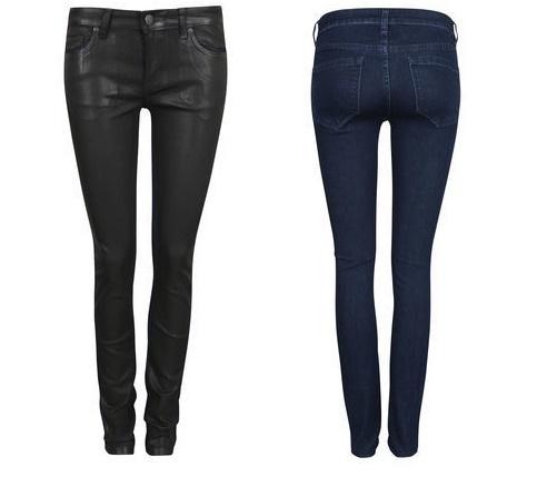 woskowane spodnie arizona S czarne nowe