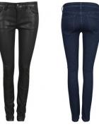 woskowane spodnie arizona S czarne nowe...