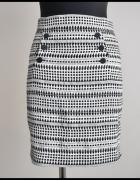 H&M ołówkowa spódnica z podszewką 38 M stan bdb...