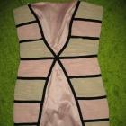 Morelowa sukienka r36