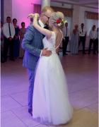 Suknia ślubna roz 36 Camila Piekut welon oraz bolerko gratis Wa...
